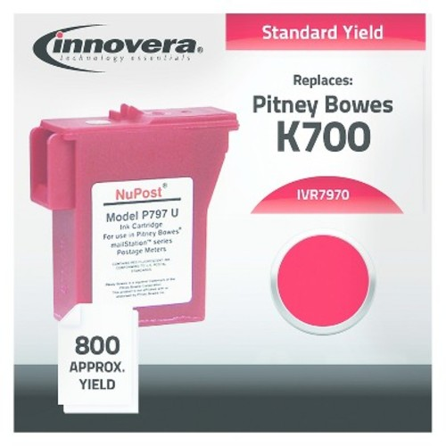 innovera - Red Ink Cartridge