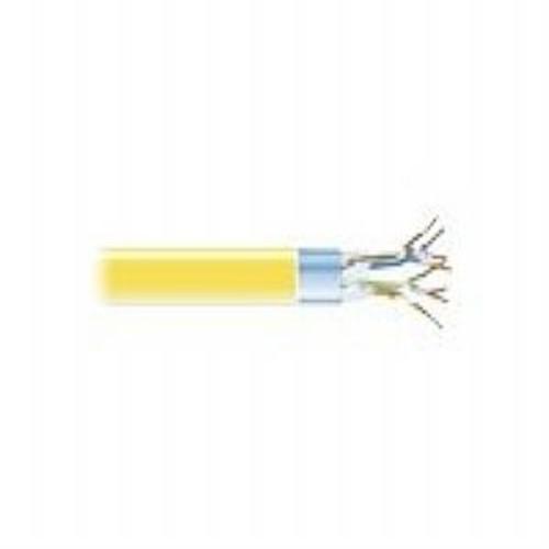 Black Box CAT5e - Bulk cable - 1000 ft - STP - CAT 5e - plenum, solid - yellow (EVNSL0514A-1000)