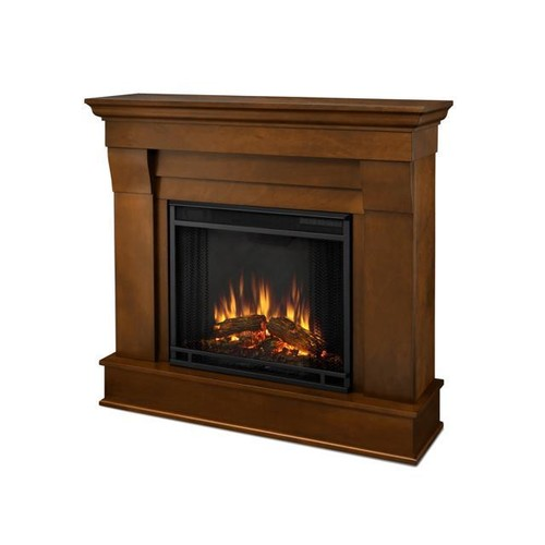 Real Flame Chateau Electric Fireplace in Espresso - 5910E-E