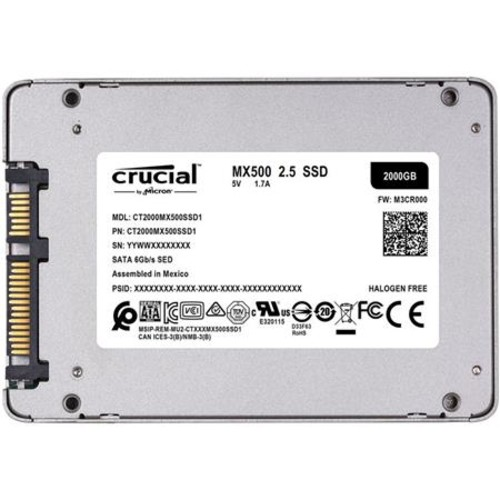 Crucial Technology MX500 2TB 2.5