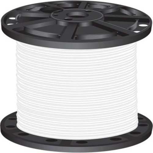 Southwire 1,000 ft. 4 White Stranded CU SIMpull THHN Wire