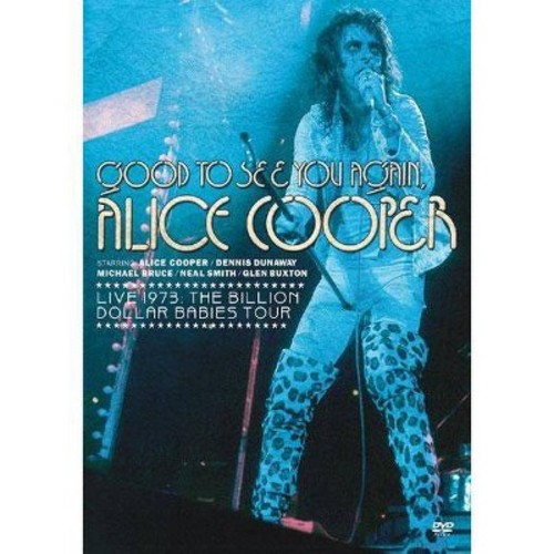 Good to see you again alice cooper:Li (DVD)
