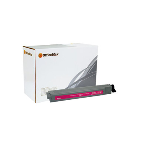 OfficeMax Magenta High Yield Toner Cartridge Compatible with Xerox Phaser 7400 (106R01078)