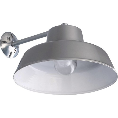 Canarm Ceiling/Wall Barn Light with Glass Bulb Shield  14in. Dia., 120 Volts, 100 Watts, Model# BL14CWS-O