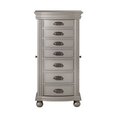 Home Decorators Collection Florence Flagstone Grey Armoire