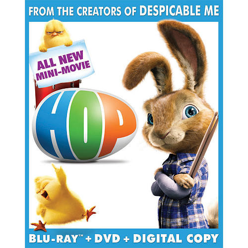 Hop DVD, Digital Copy, and BLU-RAY Combo Pack