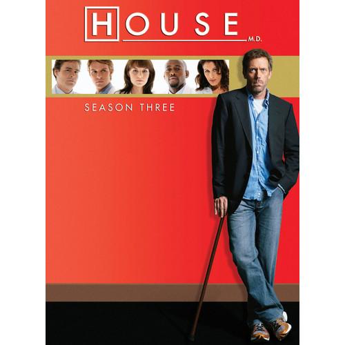 House: Season Three [5 Discs] [DVD]