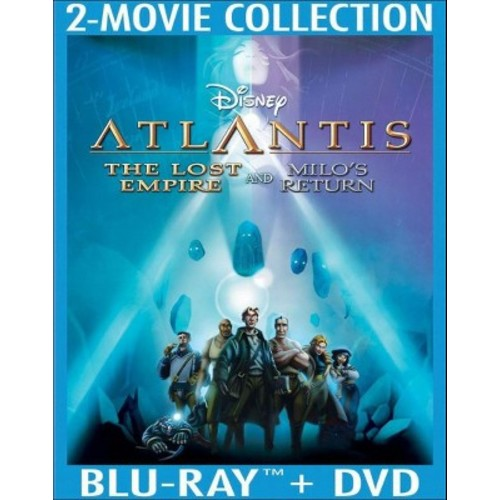 Atlantis: The Lost Empire/Atlantis: Milo's Return [3 Discs] [Blu-ray/DVD]