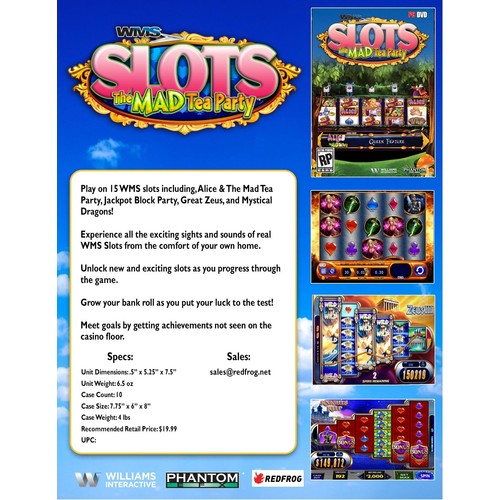 WMS SLOTS:Alices Mad Tea Alices Mad Tea Party