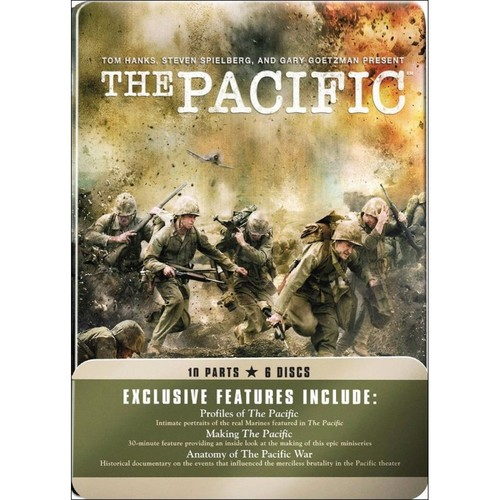 The Pacific [6 Discs] [DVD] [2010]