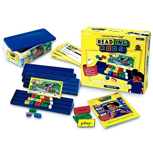 Learning Resources Reading Rods Simple Sentences Kit