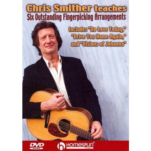 Chris Smither Teaches Six Outstanding Fingerpicking Arrangements (dvd_video)
