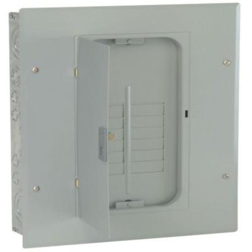 GE PowerMark Gold 125 Amp 12-Space 12-Circuit 3-Phase Indoor Main Lug Circuit Breaker Panel