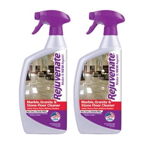 Rejuvenate S/2 32-oz Marble, Granite \u0026 Stone Floor Cleaners