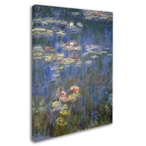 Trademark Fine Art 'Water Lilies IV 1840-1926' 24