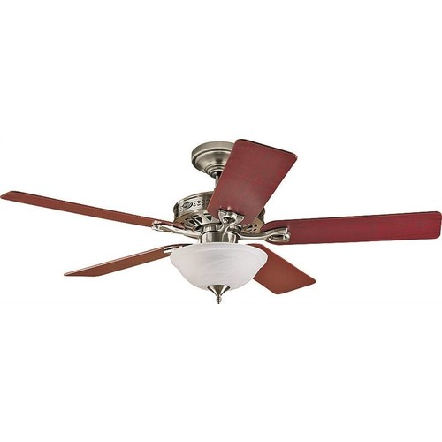 Hunter Fans 52IN CEILING FAN NICKEL W/LIGH