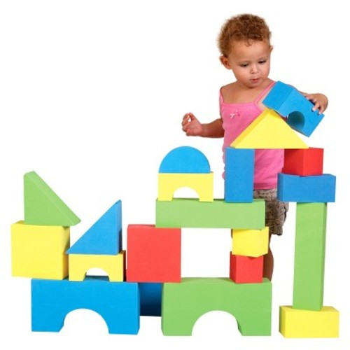 Edushape Big Edu-Color Blocks, 32 Piece [Edu-Color Blocks]