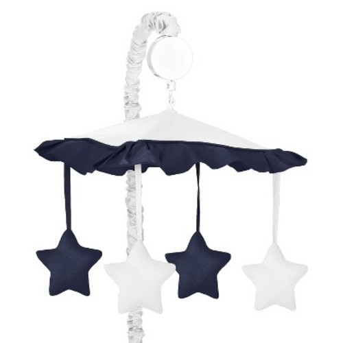 Sweet Jojo Designs Hotel Mobile - White and Navy