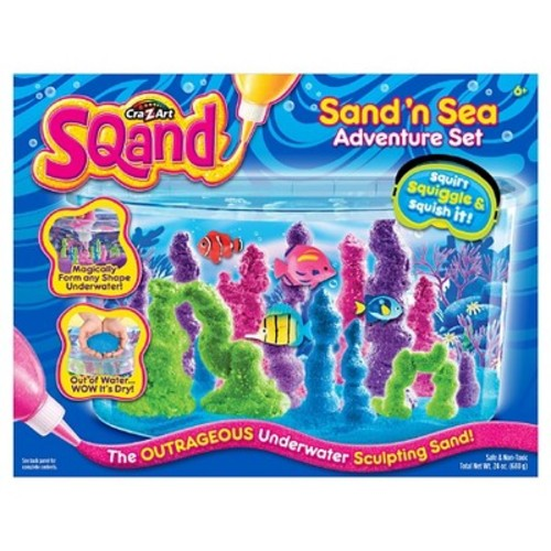 Cra-Z-Art Sqand Sand 'N Sea Adventure Sculpting Sand Set