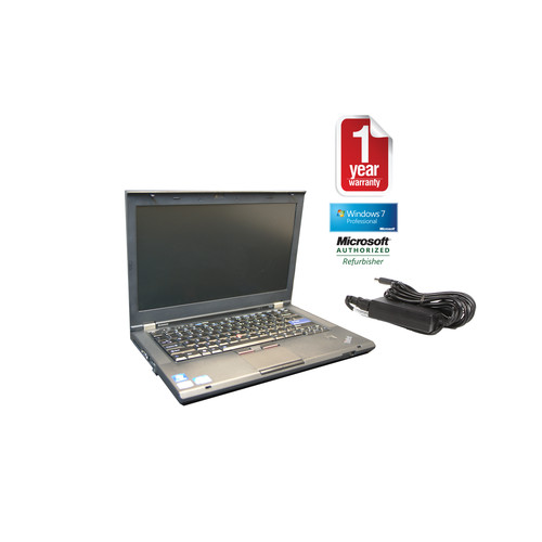 Lenovo T420-REFURB T420 refurbished laptop PC I5 2.5/4GB/750GB/DVDRW/14/Webcam/Win10P64bit