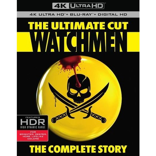 Watchmen [The Ultimate Cut] [4K Ultra HD Blu-ray/Blu-ray] [Includes Digital Copy] [UltraViolet] [2009]