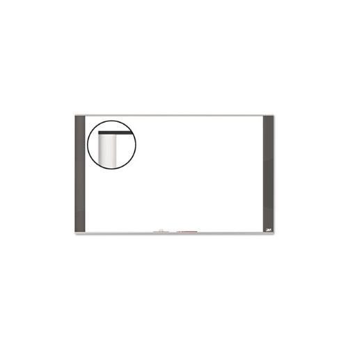 3M Melamine Dry Erase Board, 36 x 24, White, Graphite Frame (M3624G)