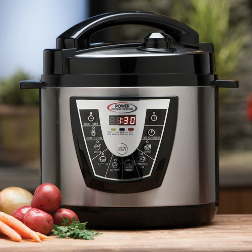 Tristar 6 Quart Power Pressure Cooker XL - Black