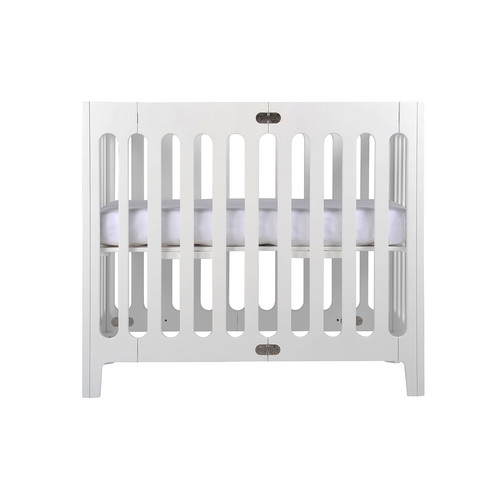 bloom Alma Mini Crib, Coconut White