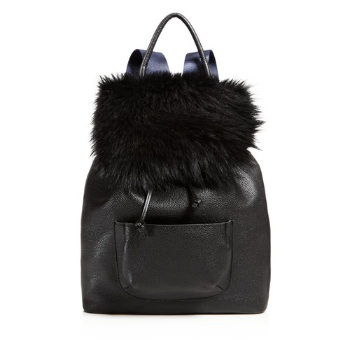 ELIZABETH AND JAMES Langley Fur Backpack