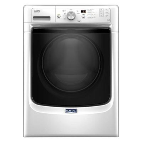 Maytag 4.3 cu. ft. High-Efficiency Front Load Washer with Steam in White, ENERGY STAR