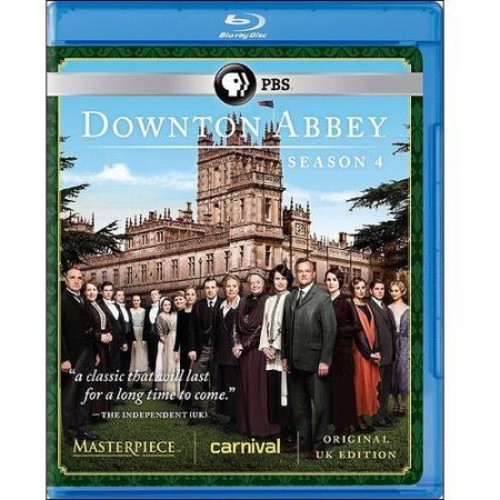 Downton Abbey: Season 4 (Original UK Edition) (Blu-ray)