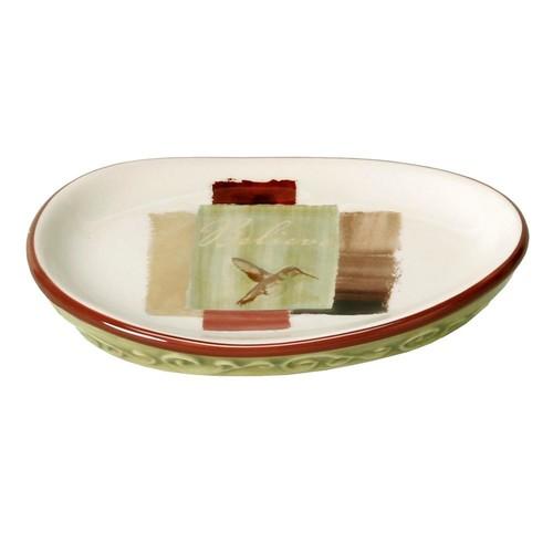 Saturday Knight Inspire Freestanding Soap Dish in Parchment