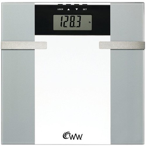Weight Watchers - by Conair Digital Bathroom Scale - White