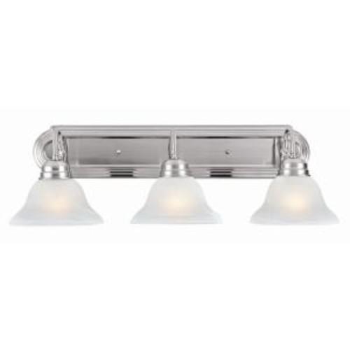 Design House Millbridge 3-Light Satin Nickel Vanity Light