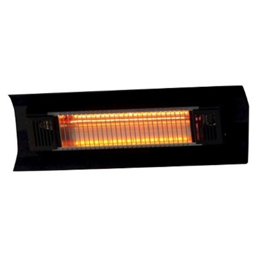 Fire Sense Black Steel Wall Mounted Infrared Patio Heater