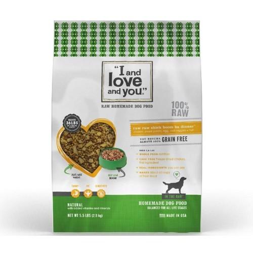 Raw Raw Grain Free Chick Boom Ba Dehydrated Dog Food
