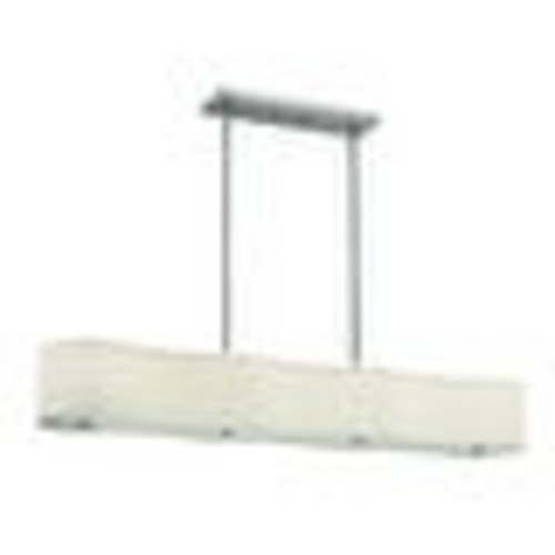 Hinkley Lighting 3806-GU24 6 Light Title 24 Fluorescent Large Linear Chandelier from the Cirrus Collection