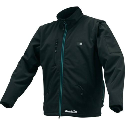 Makita Men's Large Black 12-Volt MAX CXT Lithium-Ion Cordless Heated Jacket (Jacket Only)