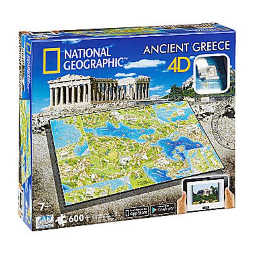 4D Cityscape 4D Cityscape Time Puzzle - National Geographic - Ancient Greece: 600 Pcs - JCPenney