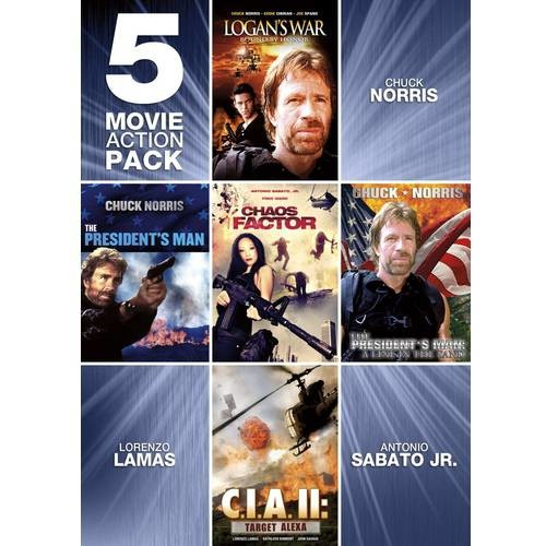 Echo Bridge Home Entertainment 5-Movie Action Pack