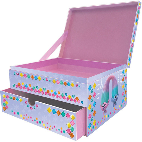 Trolls Glittery Glam Jewelry Box