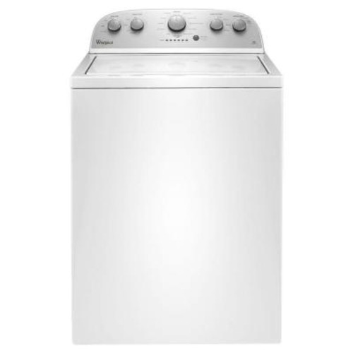 Whirlpool 3.5 cu. ft. High-Efficiency Top Load Washer in White