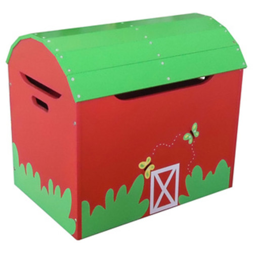 Guidecraft Pretend Play Farm Friends Toy Box