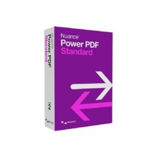Nuance Power PDF Standard - (v. 2.0) - box pack - 5 users - DVD - Win - English - United States
