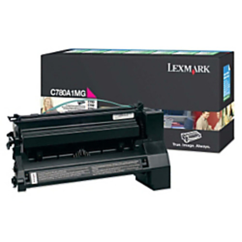 Lexmark C780A1MG High-Yield Return Program Magenta Toner Cartridge
