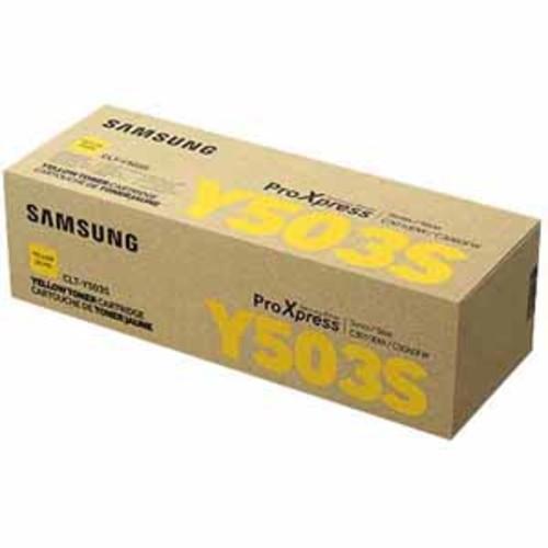 Samsung CLT-Y503S Toner For SL-C3010/SL-C3060 Printers - Yellow