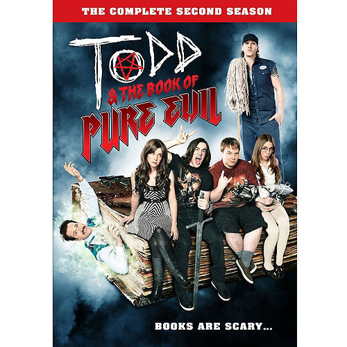 Todd and the Book of Pure Evil: The Complete Second Season [2 Discs] [DVD]