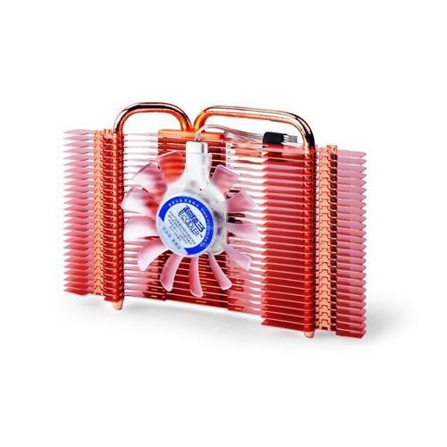 PC Cooler Aegean Sea K82U Graphics Card Cooler 80mm Cooling Fan W/ Heatpipe Heatsink For GPU For ATI Radeon HD, NVIDIA GeForce Video Processor Card