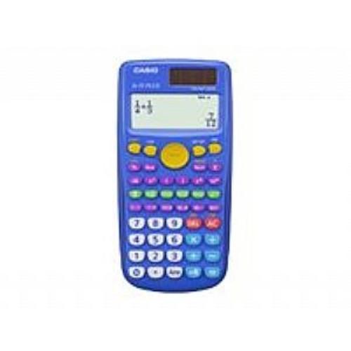 Casio FX-55PLUS - Scientific calculator - 10 digits + 2 exponents - solar panel, battery