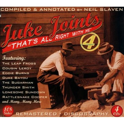 Juke Joints, Vol. 4: That's All Right with Me [CD]